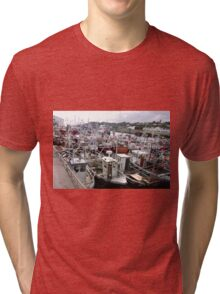Traffic Jam - Greencastle Co. Donegal Ireland Tri-blend T-Shirt