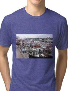 Traffic Jam - Greencastle Co. Donegal Ireland Tri-blend T-Shirt
