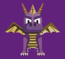 Spyro vector character fanart by TIERRAdesigner