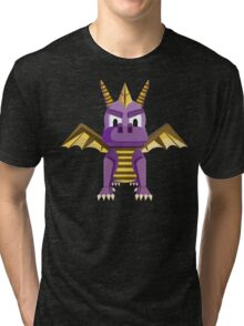 Spyro vector character fanart Tri-blend T-Shirt