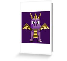Spyro vector character fanart Greeting Card