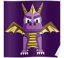 Spyro vector character fanart Poster