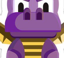 Spyro vector character fanart Sticker