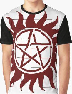 Supernatural Anti Possession Graphic T-Shirt