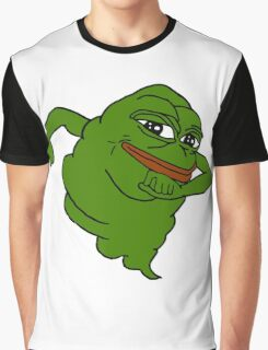 Pepe the Slimer Graphic T-Shirt