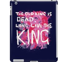 Coldplay-The Old King is Dead,Long Live the King iPad Case/Skin