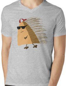 Weekend Hedgehog by Anne Winkler Mens V-Neck T-Shirt