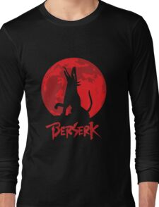 Berserk Wolf Full Moon Long Sleeve T-Shirt