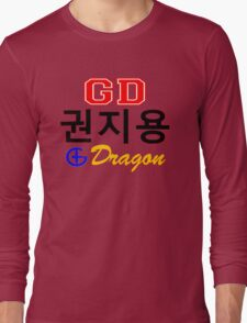 ♥♫Big Bang G-Dragon Cool K-Pop GD Clothes & Stickers♪♥ Long Sleeve T-Shirt