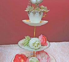 Tea & Peonies  by CreativeEm