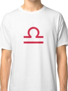 Star sign: Libra Classic T-Shirt