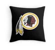 Washington Redskins Throw Pillow