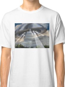 UFO Over Capital Classic T-Shirt