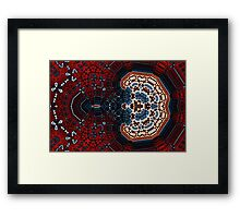 Geometric Patterns No. 55 Framed Print