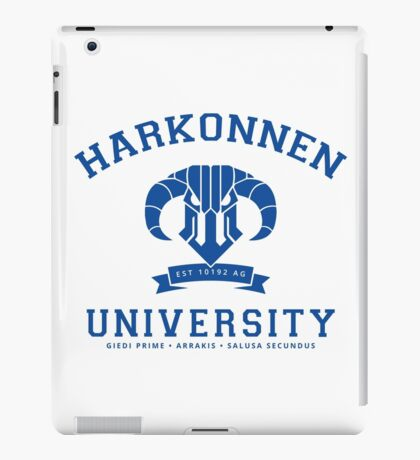 Harkonnen University | Blue iPad Case/Skin