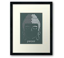 Peace - Minimalist Zen Art Framed Print