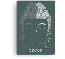 Peace - Minimalist Zen Art Canvas Print