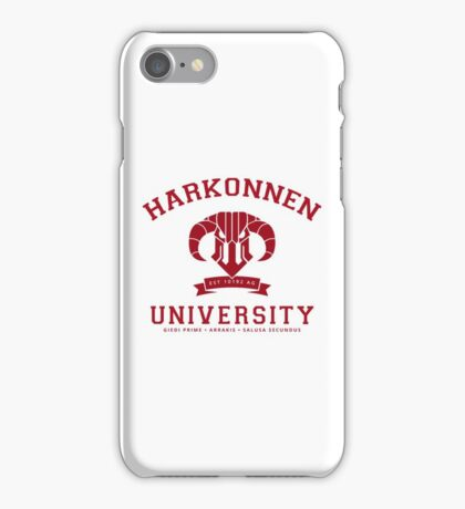 Harkonnen University | Red iPhone Case/Skin