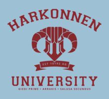Harkonnen University | Red One Piece - Short Sleeve