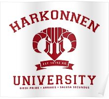 Harkonnen University | Red Poster