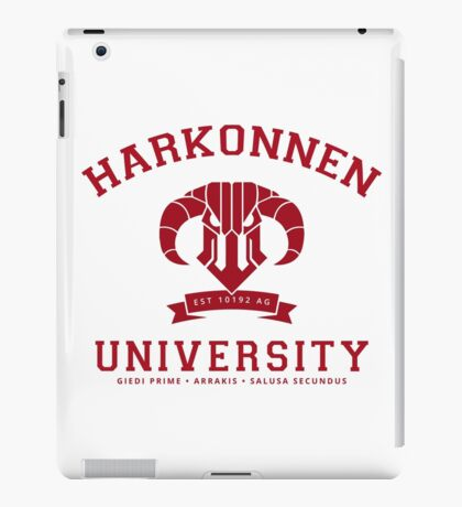 Harkonnen University | Red iPad Case/Skin