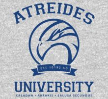 Atreides University | Blue One Piece - Long Sleeve