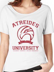 Atreides University | Red Women's Relaxed Fit T-Shirt