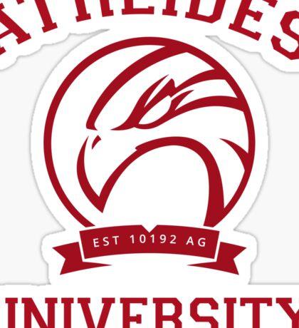 Atreides University   Red Sticker