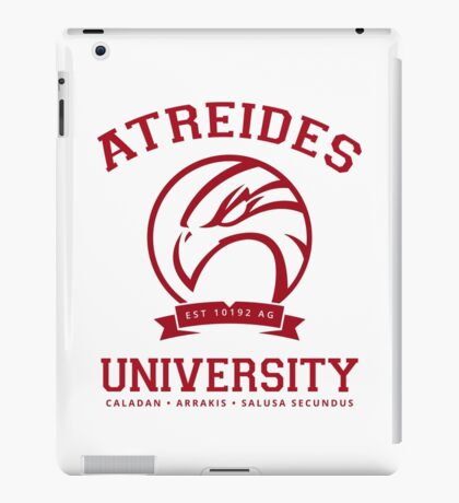 Atreides University | Red iPad Case/Skin