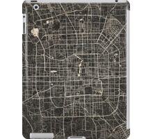 Beijing map ink lines iPad Case/Skin