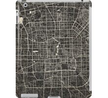 Beijing map ink lines 2  iPad Case/Skin