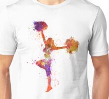 young woman cheerleader 06 Unisex T-Shirt