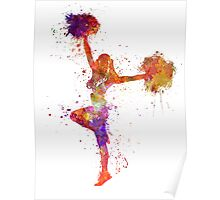 young woman cheerleader 06 Poster