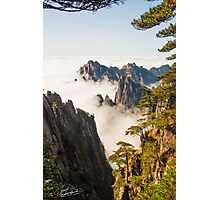Piercing the Ocean of Clouds  Photographic Print