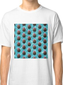 Chocolate Cupcakes In A Pool Classic T-Shirt