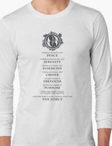 Gray Jedi  Long Sleeve T-Shirt