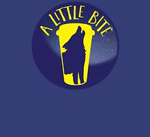 A little bite (3) with werewolf on a circle Womens Fitted T-Shirt