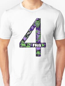 Abstract Four Unisex T-Shirt