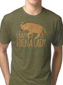 Crazy Hyena Lady Tri-blend T-Shirt