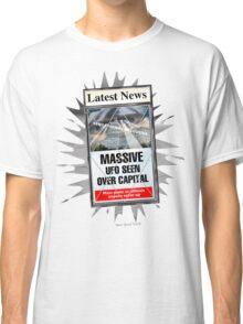 Latest News - UFO Over Capital Classic T-Shirt