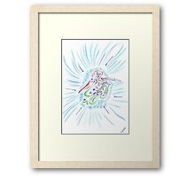 1001 - Duck Framed Print