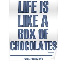 Forrest Gump - Box Of Chocolates Poster
