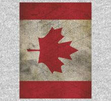 Vintage Canada Flag One Piece - Short Sleeve