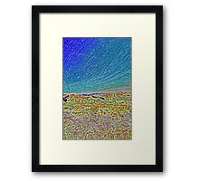 Hucks Lookout - Abstract Framed Print