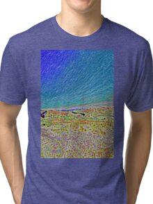 Hucks Lookout - Abstract Tri-blend T-Shirt