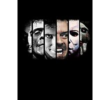 Faces of evil Photographic Print