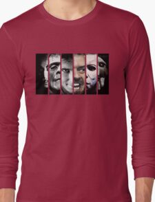 Faces of evil Long Sleeve T-Shirt