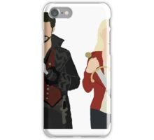 Once Upon A Time: Emma & Hook iPhone Case/Skin