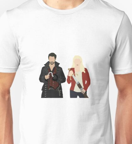 Once Upon A Time: Emma & Hook Unisex T-Shirt