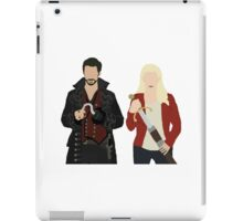 Once Upon A Time: Emma & Hook iPad Case/Skin